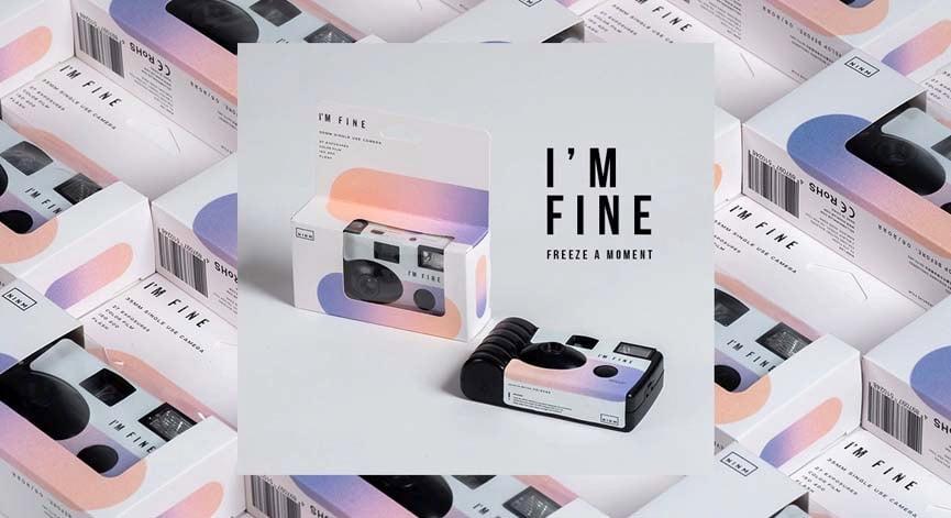 【開箱】I'M FINE 一次性菲林相機